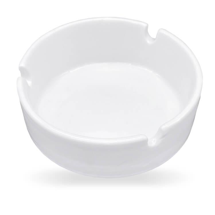 white ashtray brandable