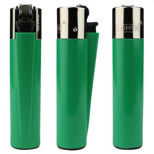 Green clipper lighter to custom
