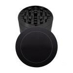black metal grinder with cap logo template
