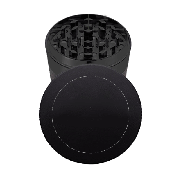 black metal grinder with cap logo template