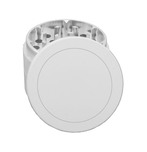 white metal grinder template