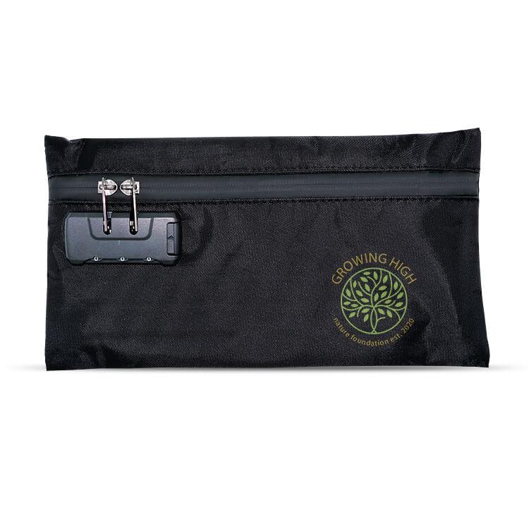 stash bag with direct print logo