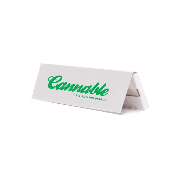 marijuana booklet with logo