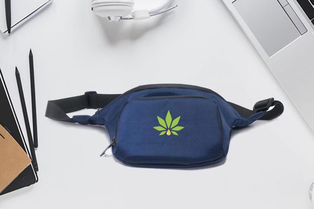 weed waist pack branded