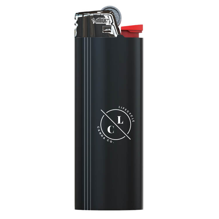 pocket lighter logoed