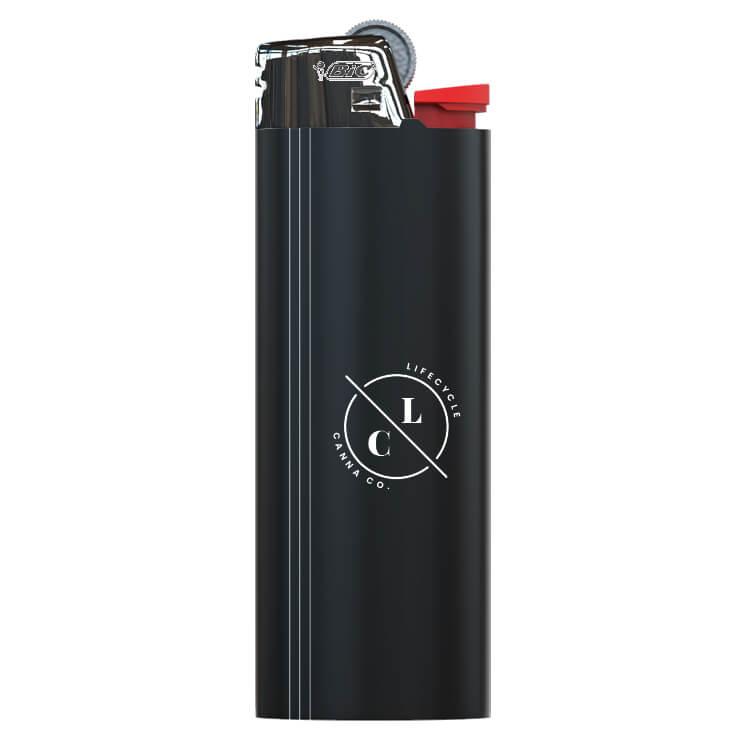 pocket lighter logoed