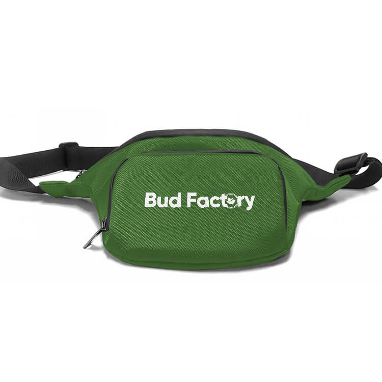 green waist pack customized