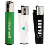 pad printed clipper lighters