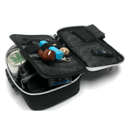 weed stash carrying case compartments