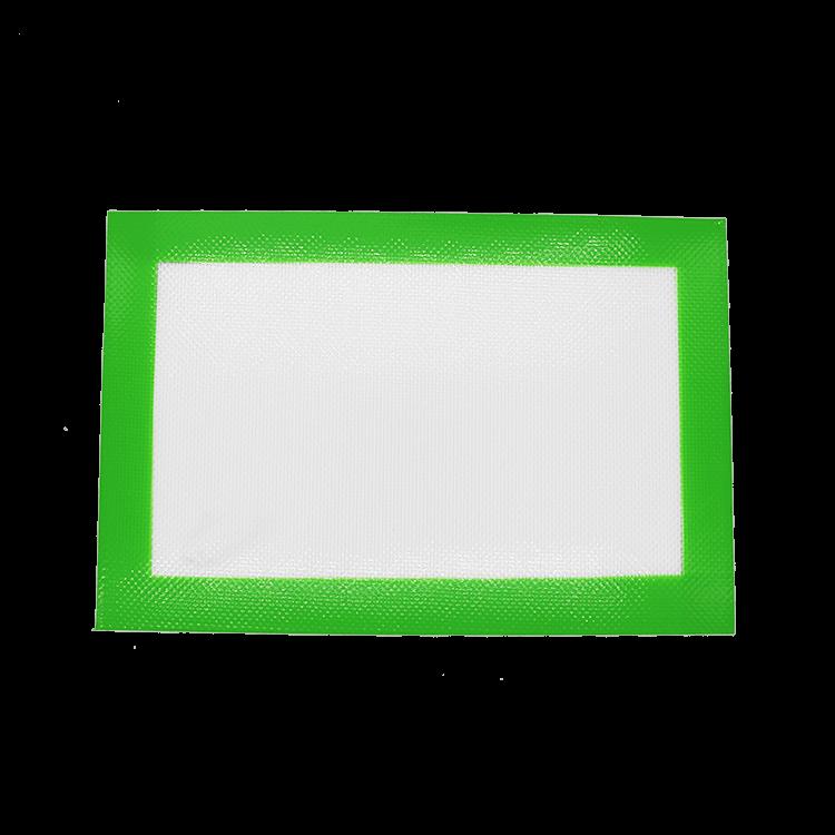 medium green dab mat mockup