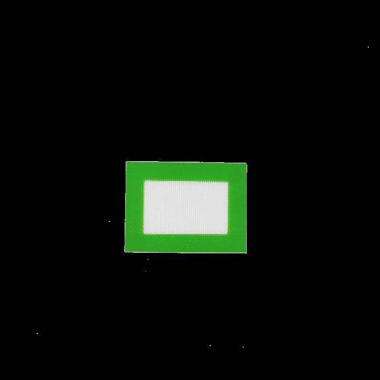 small green dab mat mockup