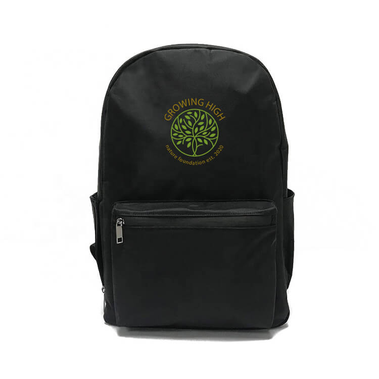 stash backpack with logo