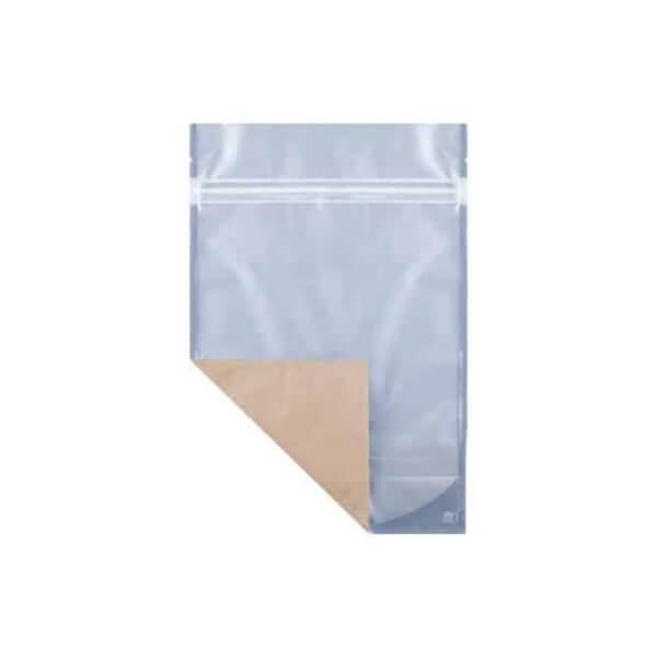 kraft eighth ounce weed mylar barrier bag