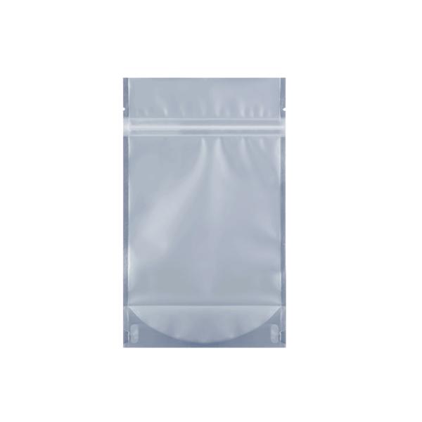 transparent quarter ounce mylar barrier cannabis bag