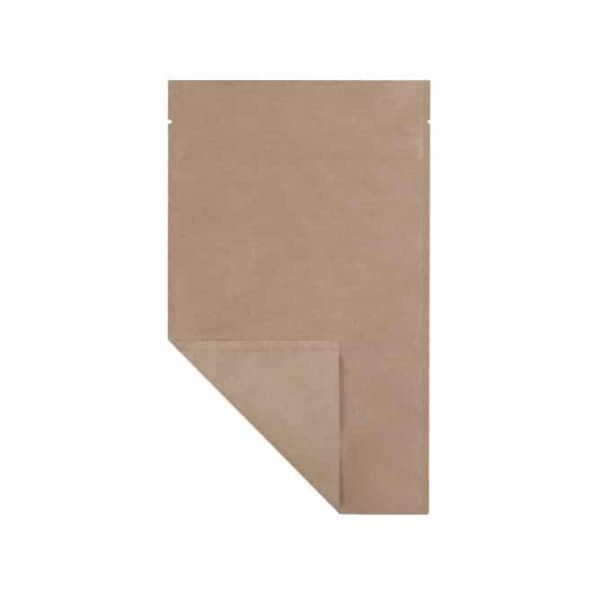 smell proof quarter ounce mylar weed barrier bag