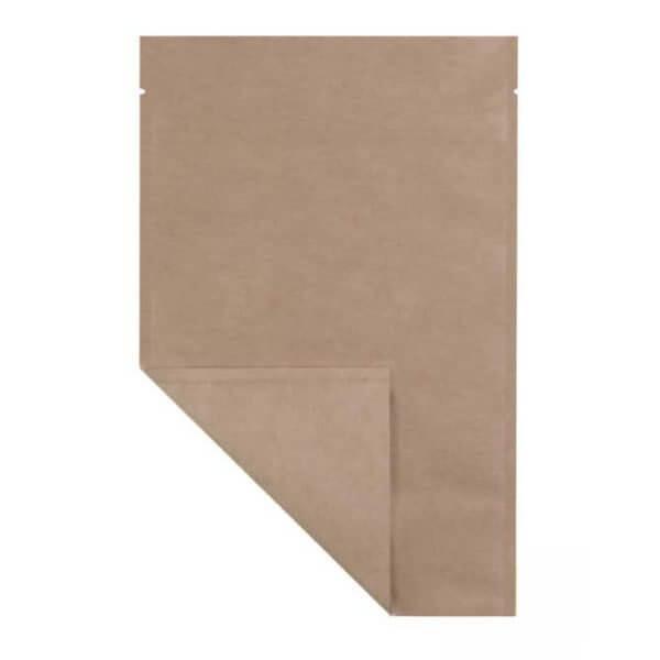opaque half ounce mylar weed barrier bag