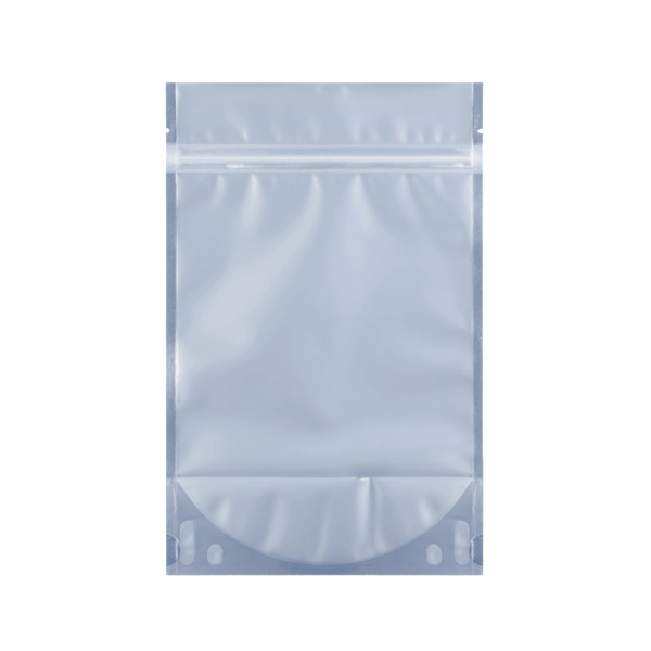 transparent ounce mylar barrier weed bag