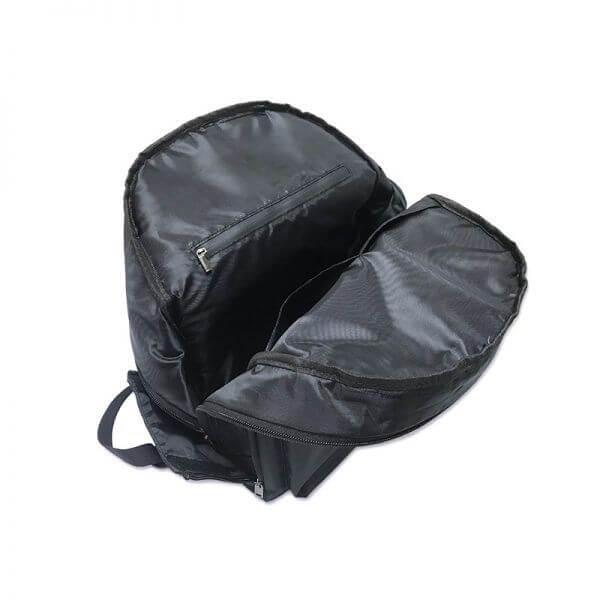marijuana backpack with water-resistant seal