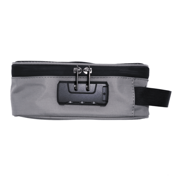 brandable cannabis combination lock bag
