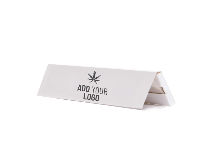 quick print king size rolling papers booklet with logo