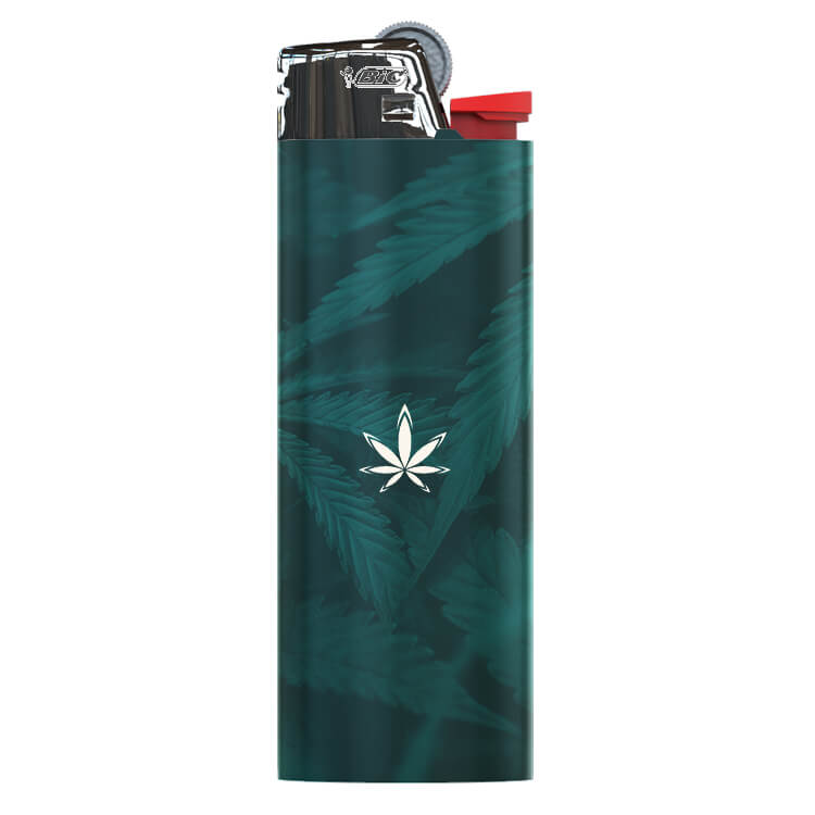 weed BIC lighter customized