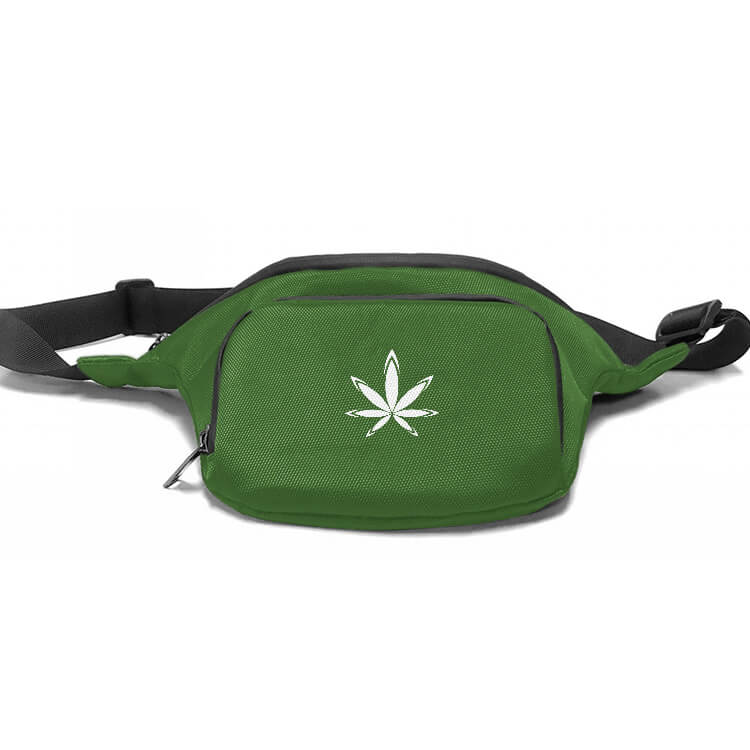 custom marijuana waist pack