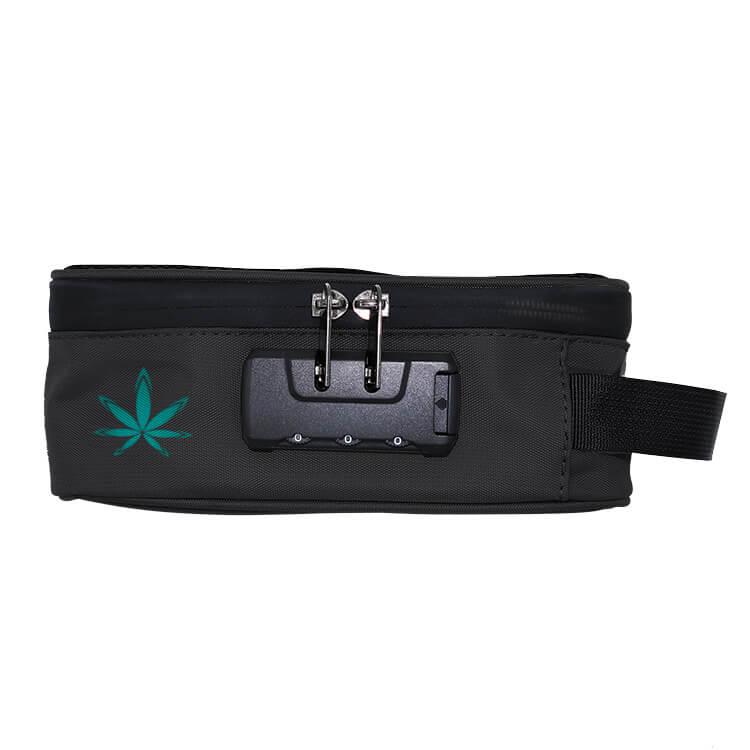 black stash case with combination lock