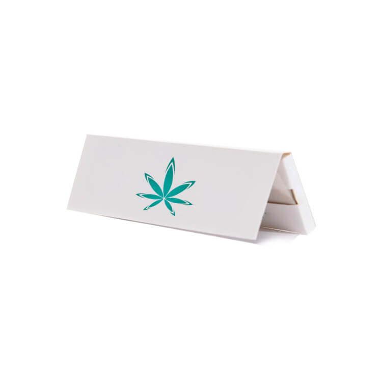 quick print 1 1/4 rolling papers booklet with logo