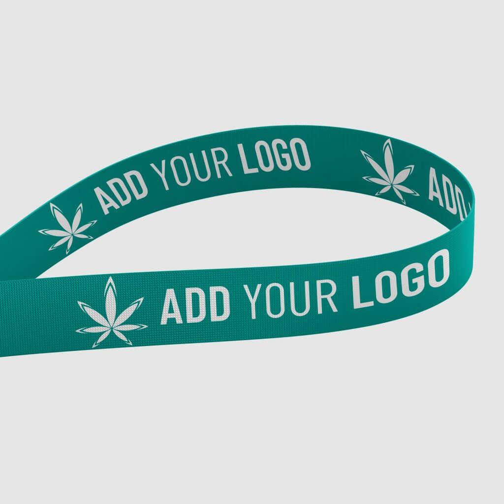 marijuana vape lanyard with logo