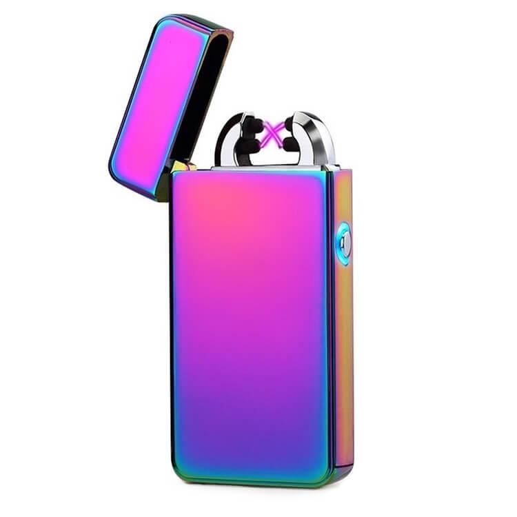 multicolor USB plasma arc lighter
