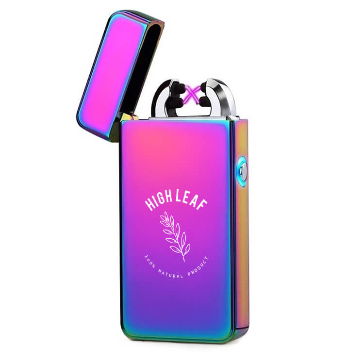 multicolor USB arc lighter with logo