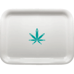 medium rolling tray with logo