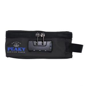 black stash case with combination lock customized