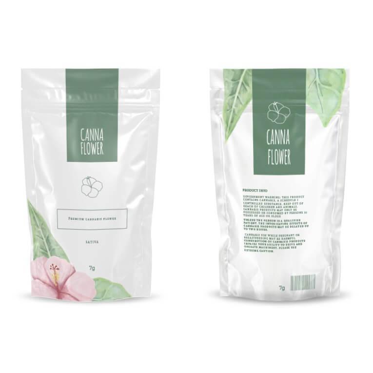 Custom quarter ounce mylar bags customization