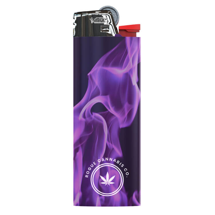 BIC lighter with logo