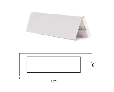 1 1/4 rolling papers mockup