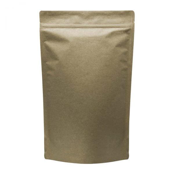 kraft opaque one pound mylar marijuana barrier bag