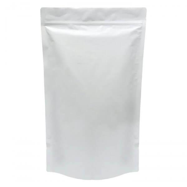 one pound mylar bag template white