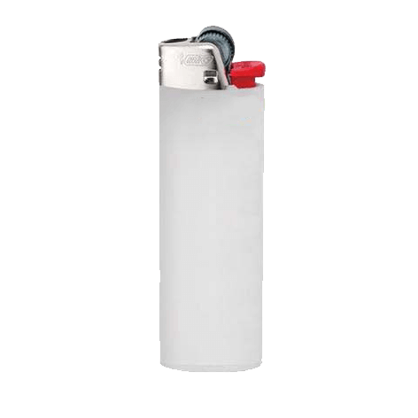 white BIC lighter template