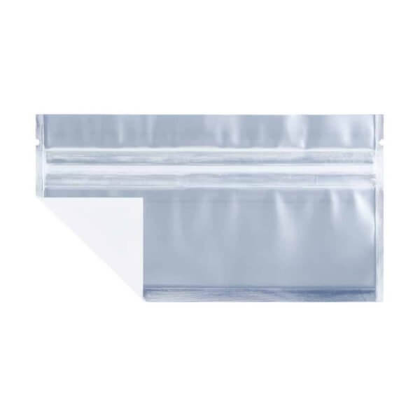 white pre-roll marijuana smell proof bag