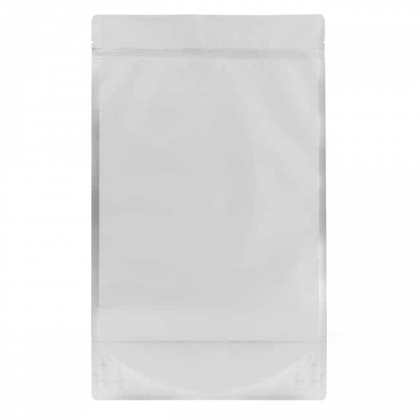 transparent one pound mylar barrier cannabis bag