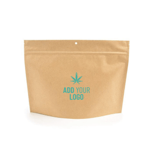Kraft Exit Bags Child Resistant with Logo