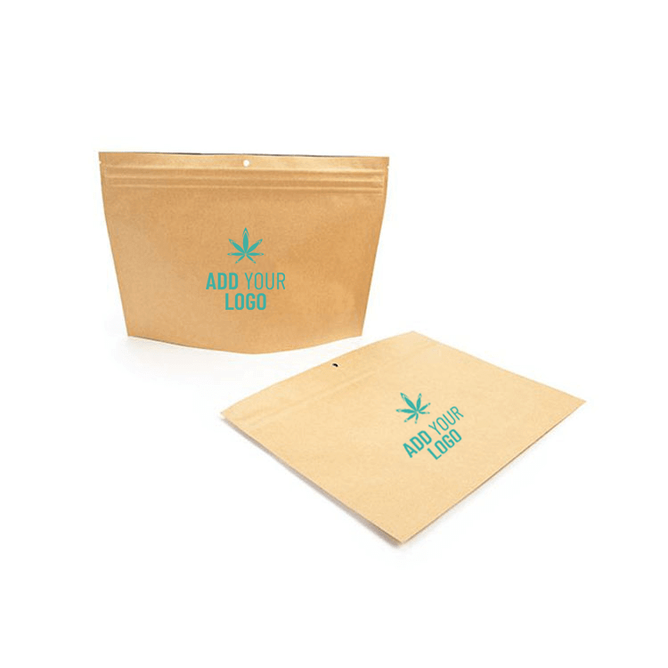 marijuana packages with logo