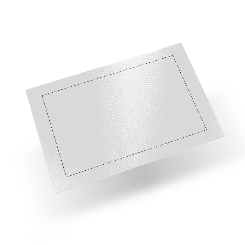 white dab mat template