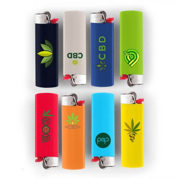 bic lighters with custom brand