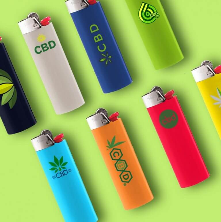 customized bic lighters