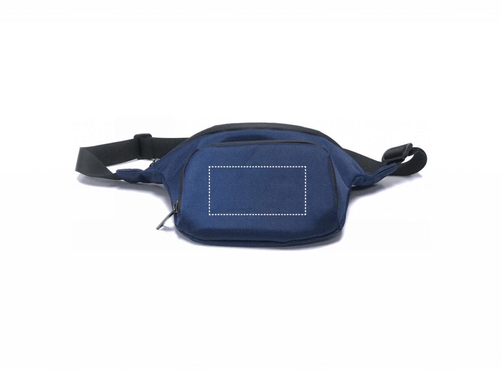 waist pack print size