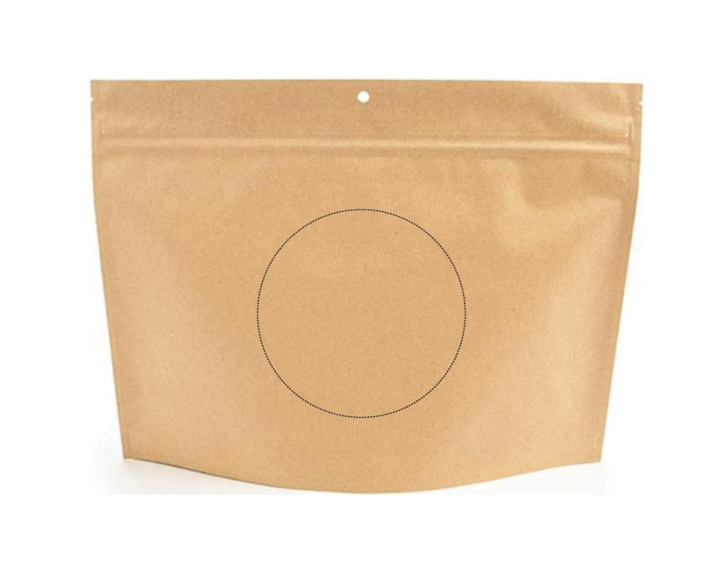 Cannabis zipper opening bag template