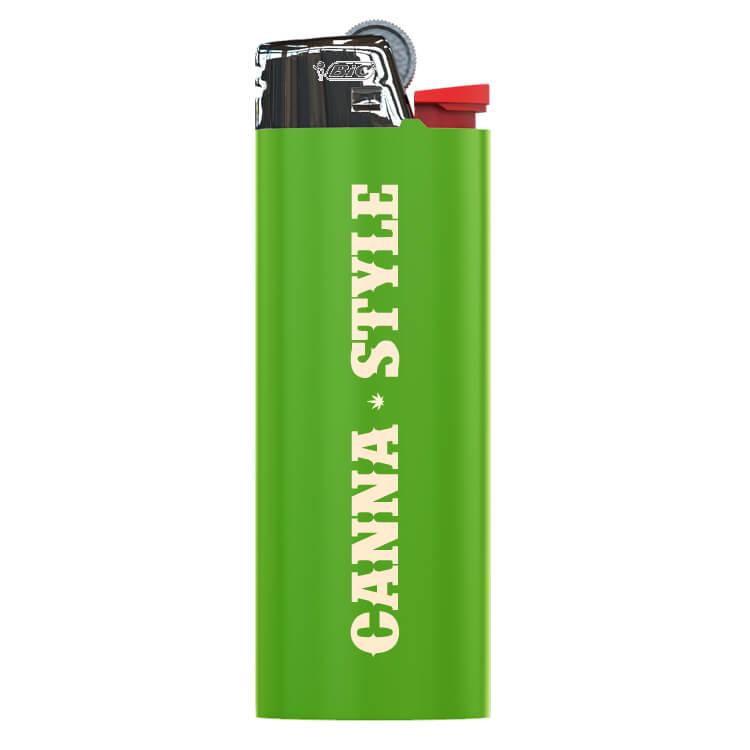 green lighter logoed