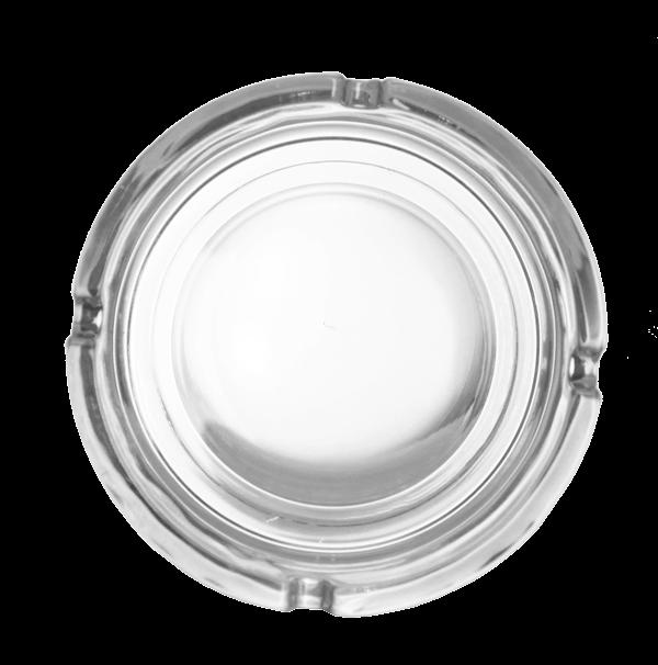 marijuana durable glass ashtray